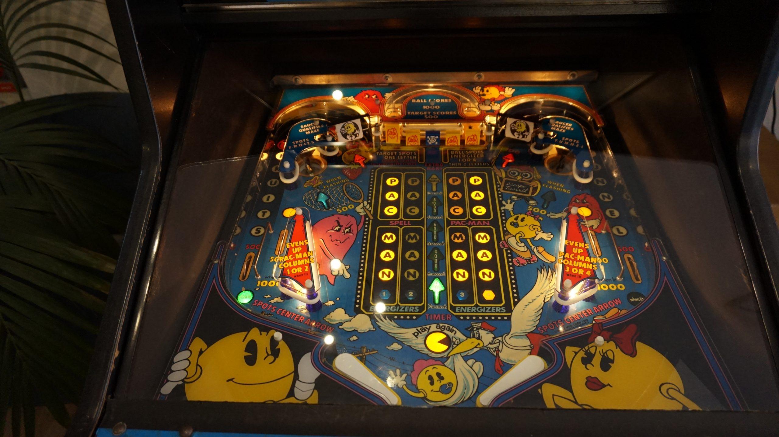 Baby Pac-Man | Bally | Speelveld
