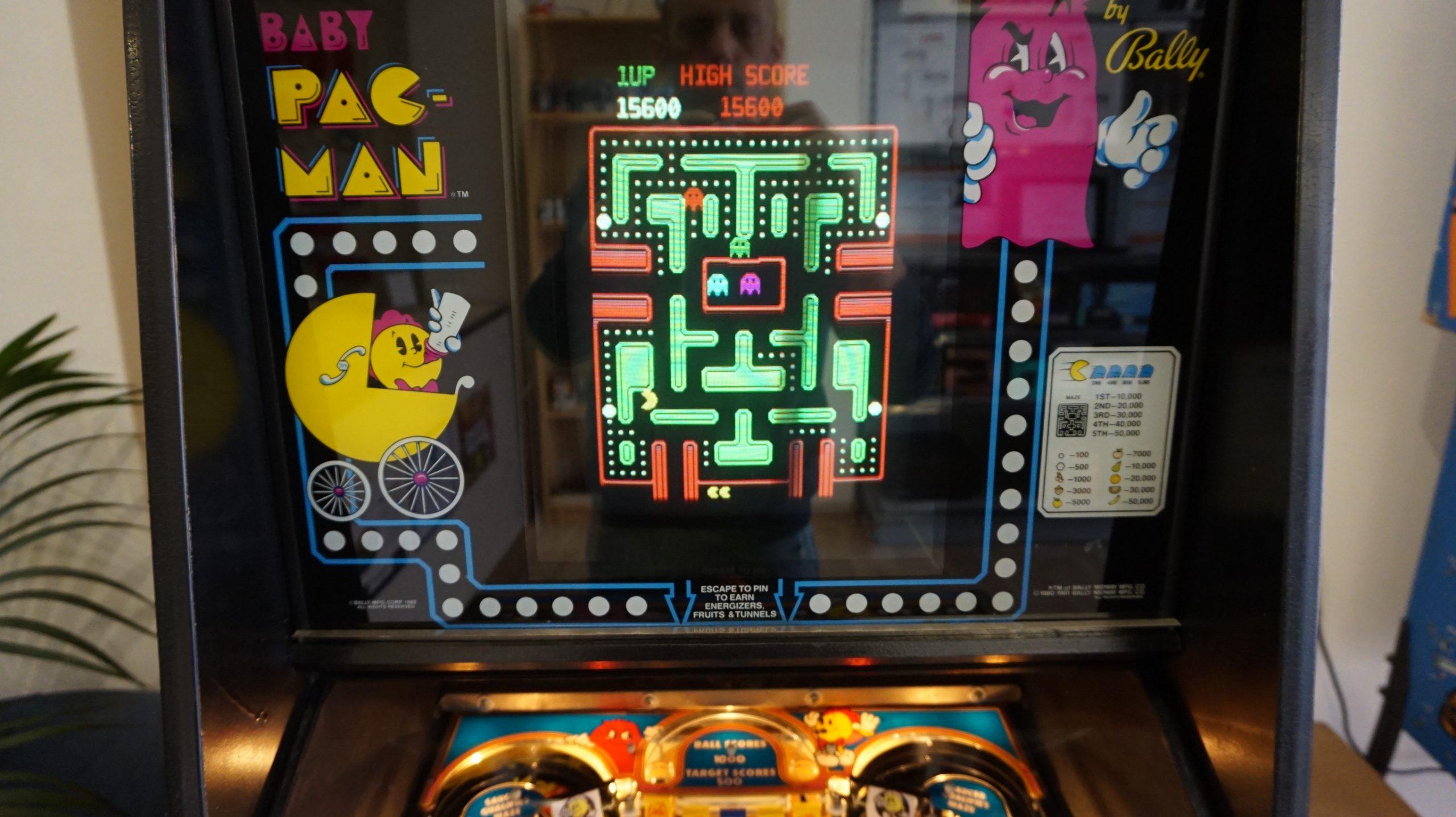 Baby Pac-Man | Bally | Video Game