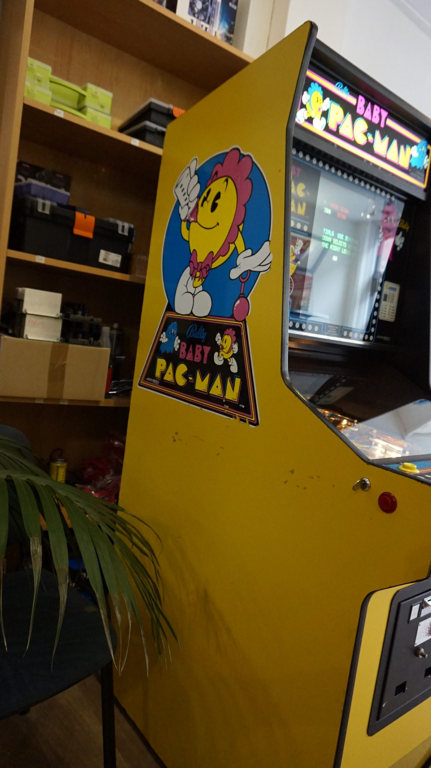 Baby Pac-Man | Bally | Kabinet