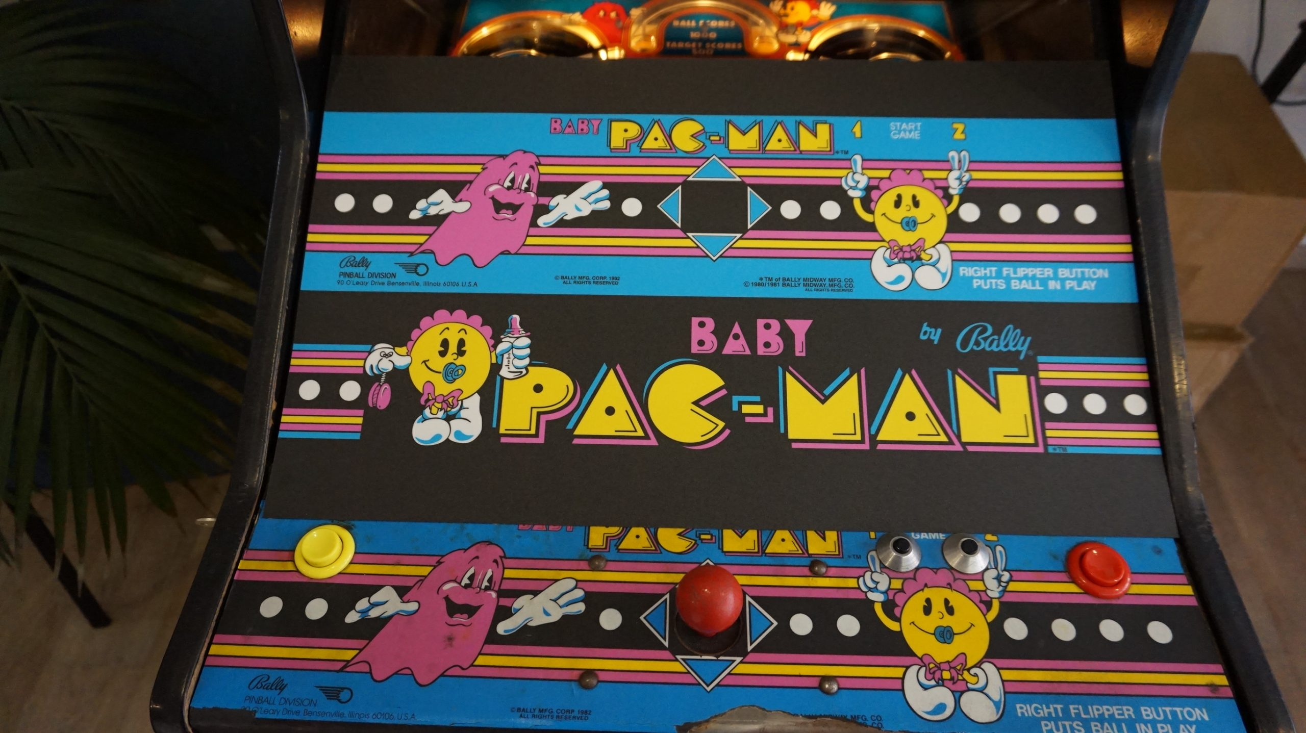 Baby Pac-Man | Bally | Decals