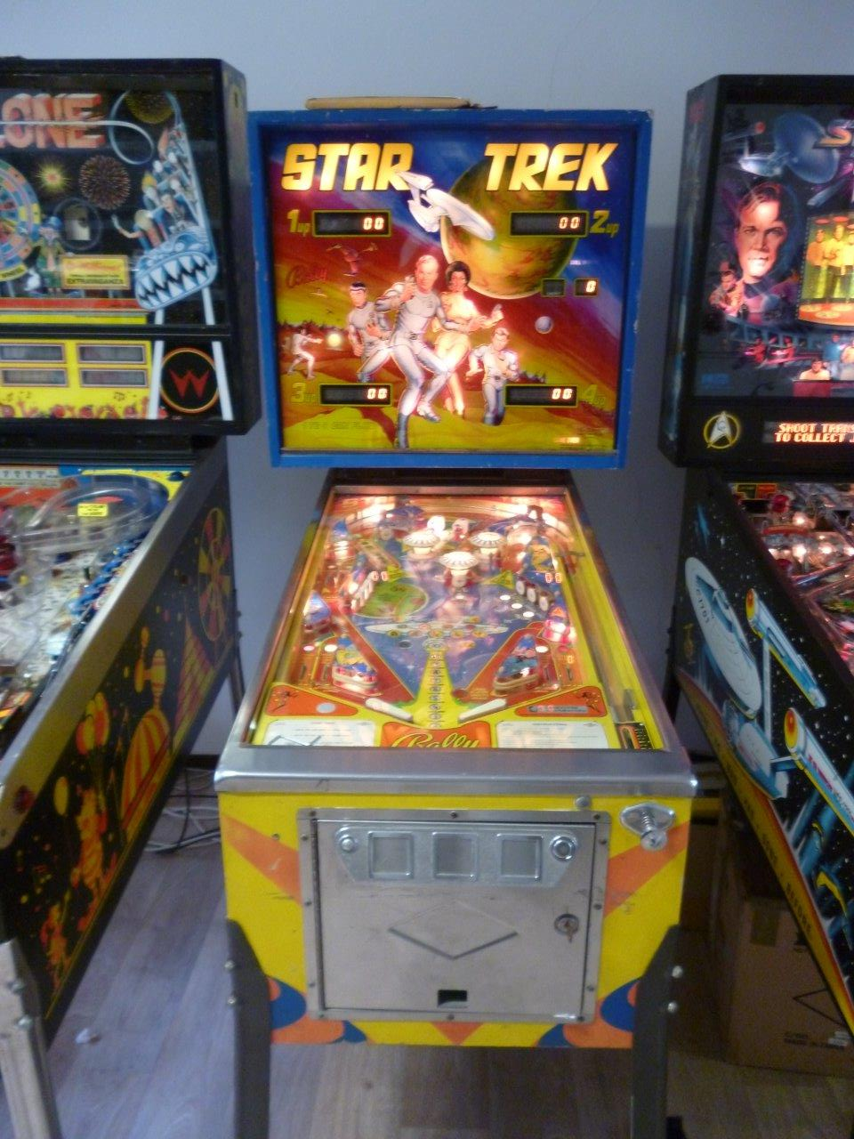 Star Trek   Bally   flipperkast kabinet