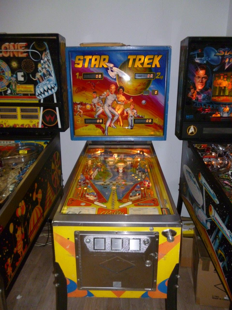 Star Trek   Bally   flipperkast