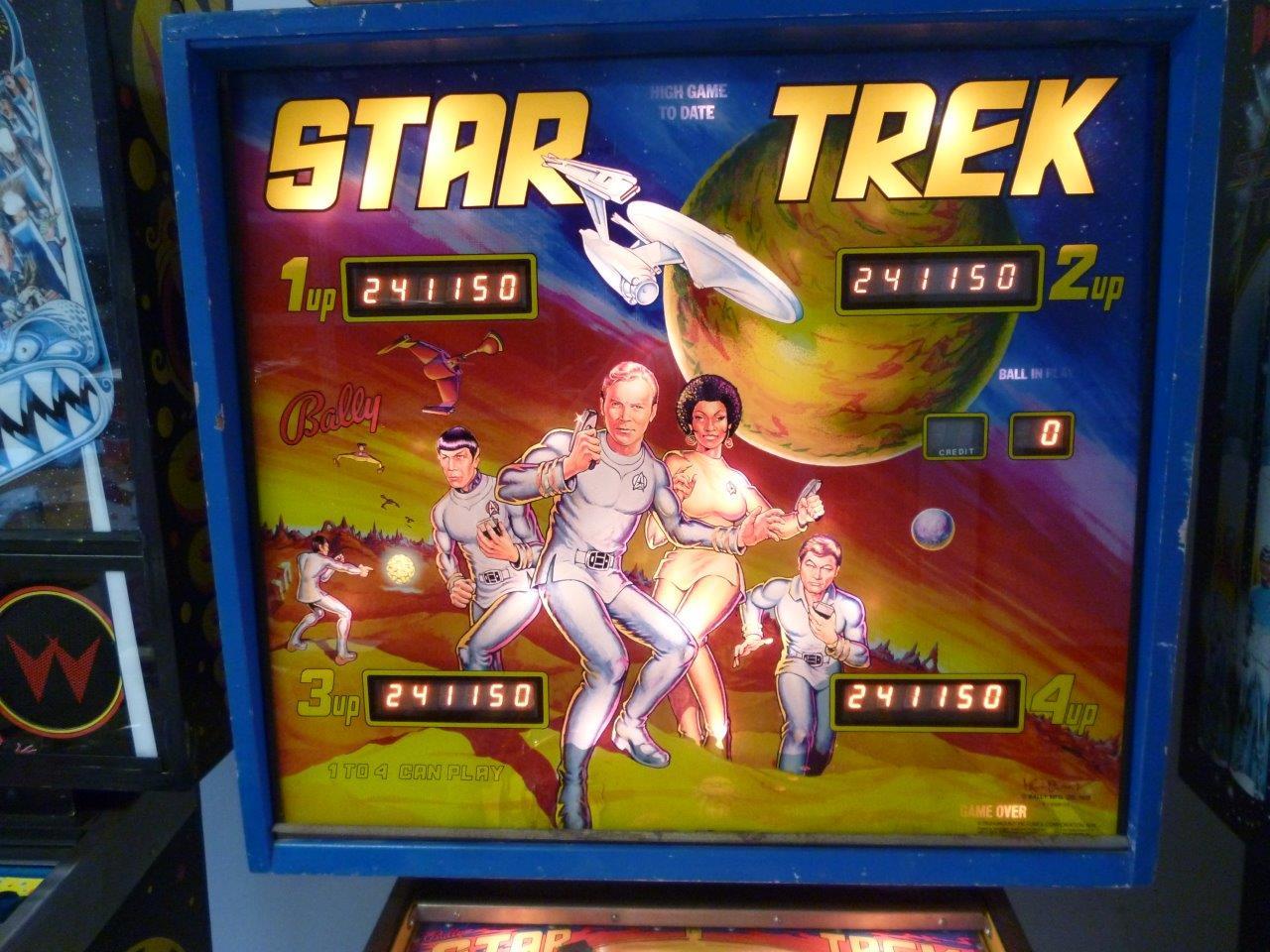 Star Trek   Bally   flipperkast kopkast
