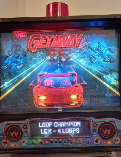 Getaway High Speed II Williams Kopkast