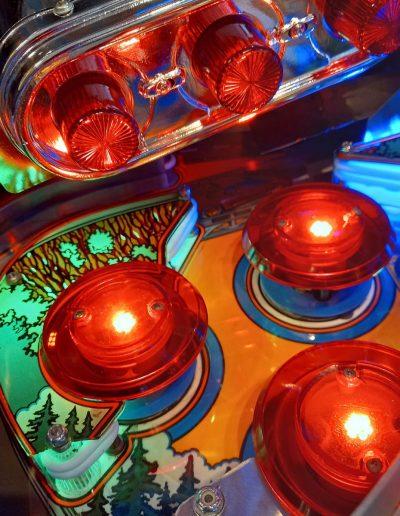 Getaway High Speed II Williams speelveld detail